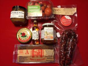Sorteo de lote de productos Gourmet